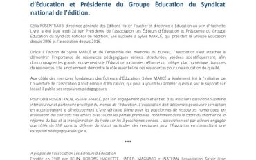 thumbnail of SNE_EditeursEducation_CP_ElectionPrésident_28Juin2018_1